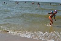 Азовское море идеально подходит для маленьких детей!