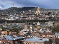 Тбилиси в марте