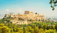 Акрополь издалека