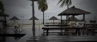 Дождь на острове Фиджи в феврале