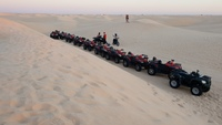Гонки на квадроциклах по пустыне Сахара, Тунис