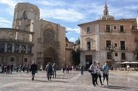 Валенсия: Старый город, площадь Пласа-де-ла-Вирхен