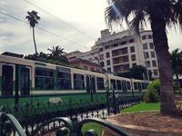 Трамвай в Тунис. Тунис в январе