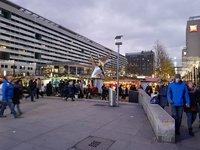 Рождественский базар на Prager Strasse