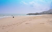 ОАЭ: безлюдные пляжи в Фуджейре