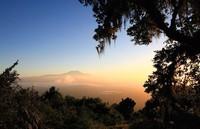 Закат в Танзании