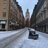 Февраль в Стокгольме, Старый город
