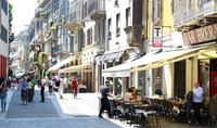 Милан: прогулка по району Брера