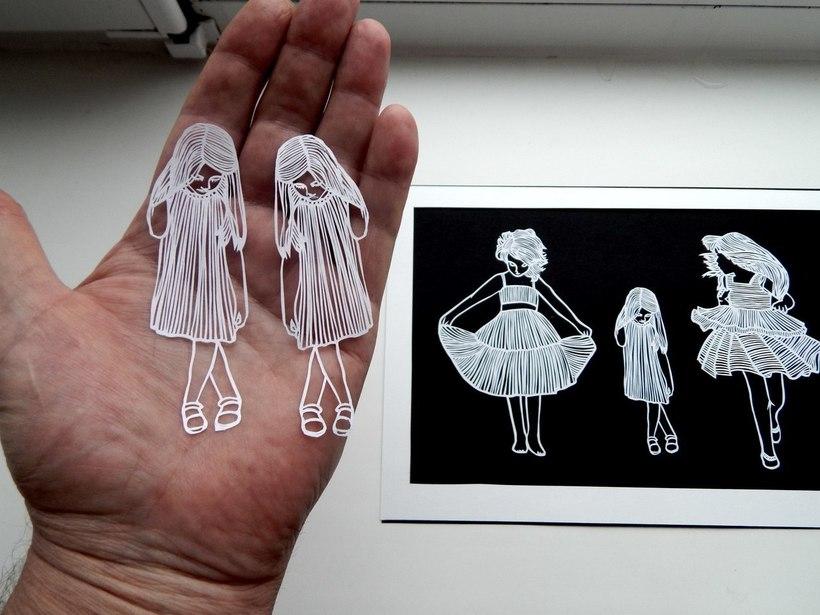 Необыкновенные картины из бумаги от пенсионера из Пскова