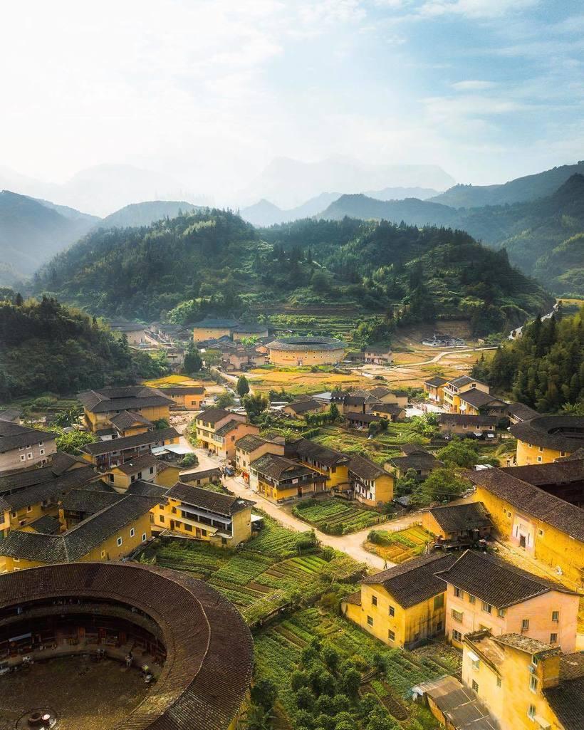Чудесные фото Азии с высоты птичьего полета