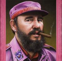 Политики в розовом цвете: художник шутит над известными личностями