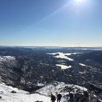 Восхождение на гору Ульрикен