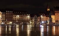 В ноябре в Страсбурге дождливо