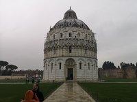 Январь в Пизе довольно дождлив