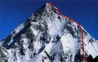 Маршрут восхождения на Чогори